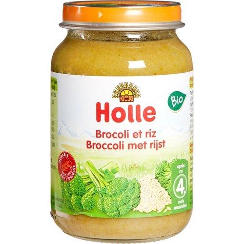 Holle Babyvoeding Broccoli Rijst 190 gram (>4 maanden)