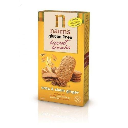 Nairn's Biscuit Breaks Havermout & Stemgember 160 gram