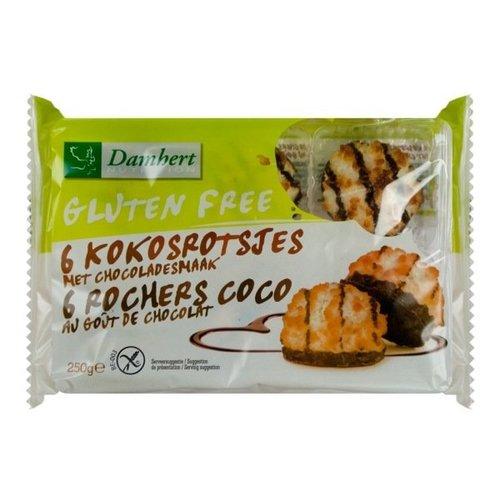 Damhert Chocolade Kokosrotsjes 250 gram