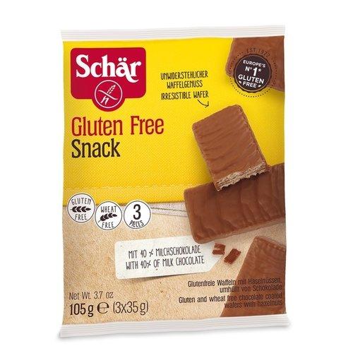 Schär Chocolade Hazelnoot Repen 3 stuks
