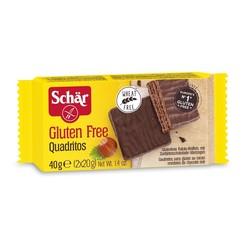 Cacao Wafels met Pure Chocolade 40 gram