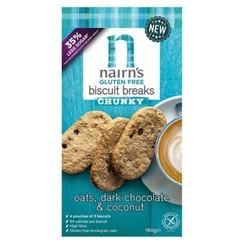 Haver Biscuits Pure Chocolade en Kokosnoot 160 gram