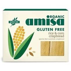 Luchtige Crackers Rijst & Mais 120 gram