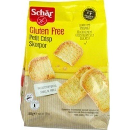 Schär Beschuitbroodjes 150 gram
