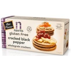 Volkoren Crackers met Zwarte Peper 137 gram