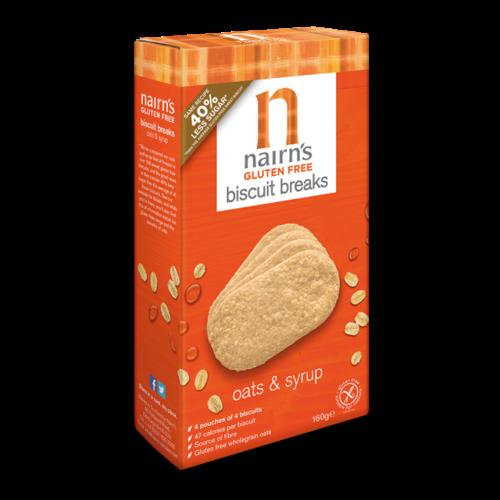 Nairn's Biscuits Havermout & Stroop 160 gram