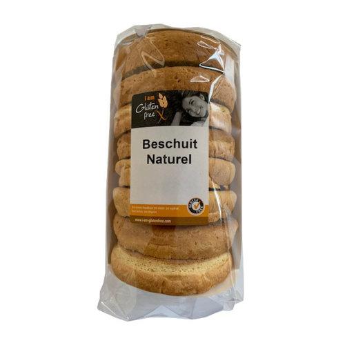 I am Glutenfree Beschuit Naturel 120 gram