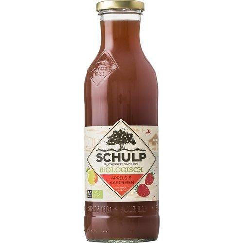Schulp Appel & Aardbeien Sap 750 ml
