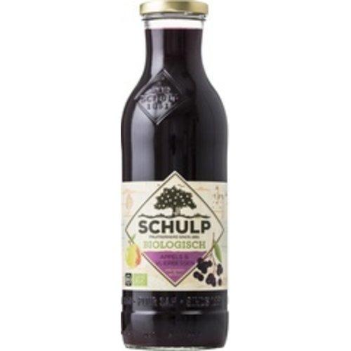 Schulp Appel & Vlierbessensap 750 ml