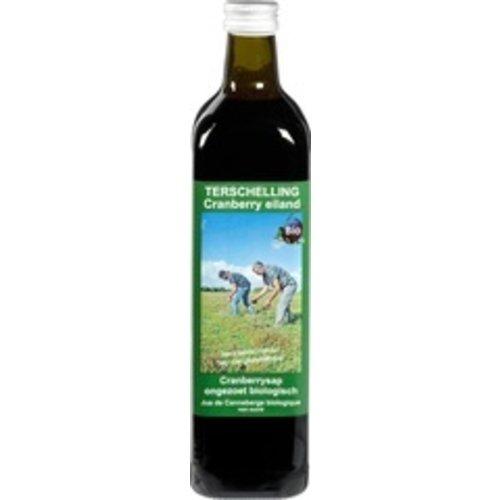 Terschellinger Cranberrysap Ongezoet 750 ml