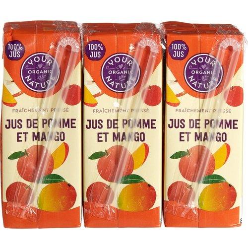 Your Organic Nature Appel-Mango Sap 6 x 200 ml