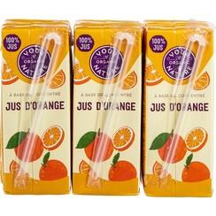 Sinaasappelsap 6 x 200 ml