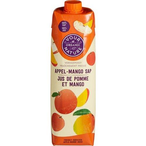Your Organic Nature Appel-Mango Sap 1 liter
