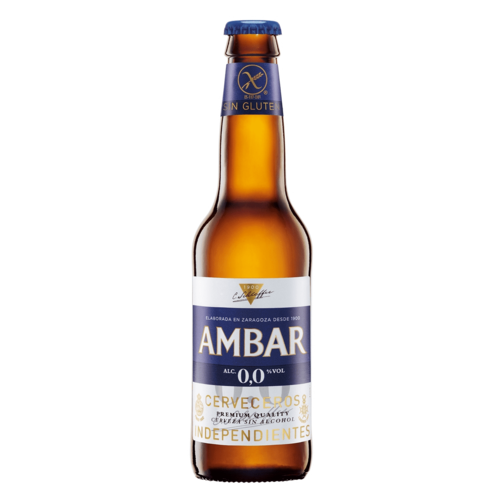 Ambar Celíacos Alcoholvrij Bier 330 ml