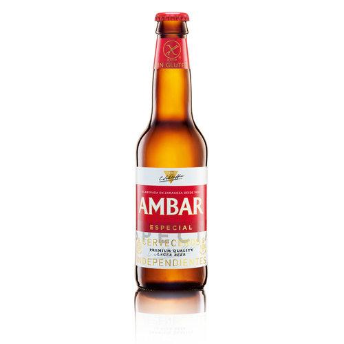 Ambar Celíacos Lager Bier 330 ml
