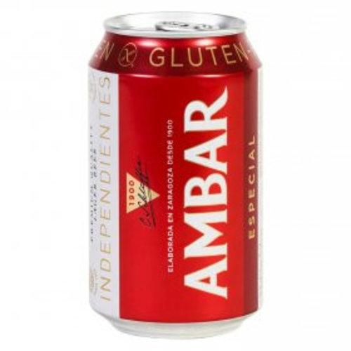 Ambar Celíacos Lager Bier Blik 330 ml