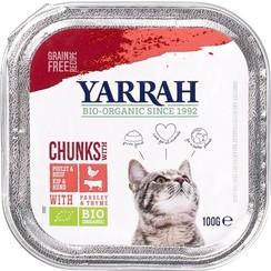 Kattenvoer Brokjes Kip & Rund 100 gram