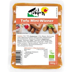 Tofu Mini-Wiener Worstjes 160 gram