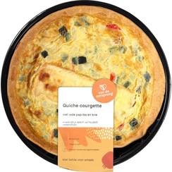 Quiche Courgette met Paprika en Brie 350 gram