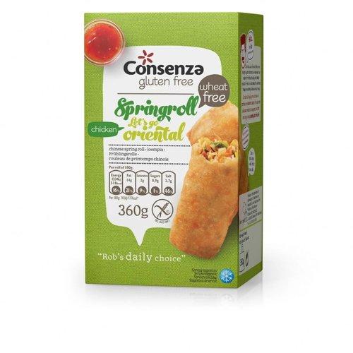 Consenza Diepvries Spring Roll Kip 360 gram