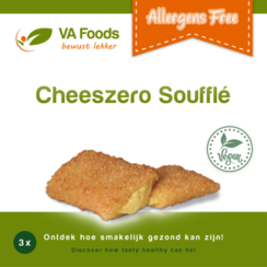 Cheeszero Soufflé 3 stuks
