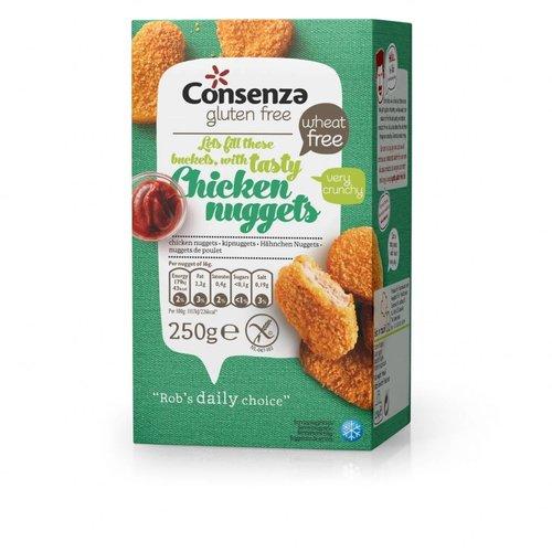 Consenza Diepvries Kipnuggets 250 gram