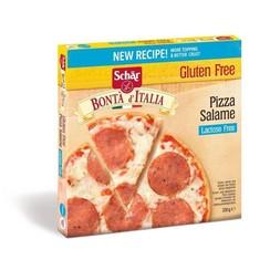 Diepvries Pizza Salami Glutenvrij 330 gram