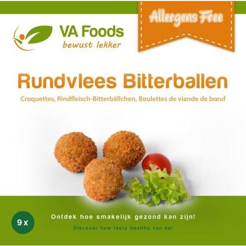 VA Foods Diepvries Runderbitterballen 9 stuks