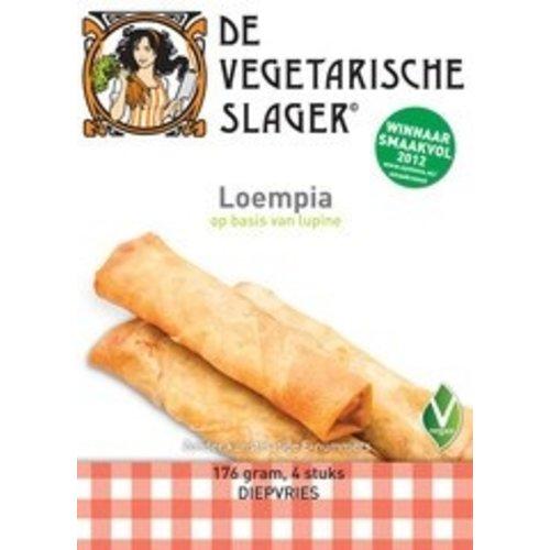 De Vegetarische Slager Diepvries Loempia's 4 stuks
