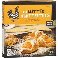 Diepvries Bladerdeeg Boter 6 x 50 gram