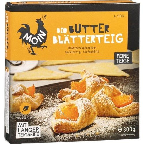 Moin Diepvries Bladerdeeg Boter 6 x 50 gram