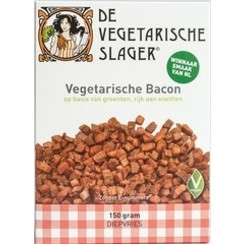 Diepvries Vegetarische Bacon 150 gram