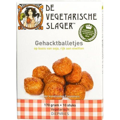 De Vegetarische Slager Diepvries Gehacktballetjes 10 stuks