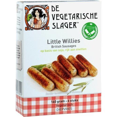 De Vegetarische Slager Diepvries Vegetarische Little Willies 6 stuks