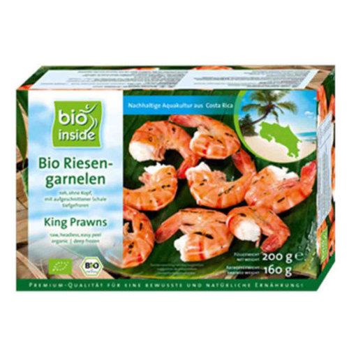 Bio Inside Diepvries Reuzengarnalen 160 gram