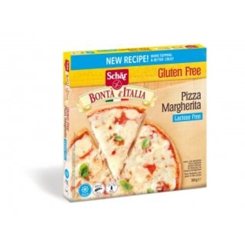 Schär Diepvries Pizza Margherita 300 gram