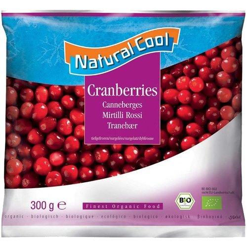 Natural Cool Diepvries Cranberries 300 gram