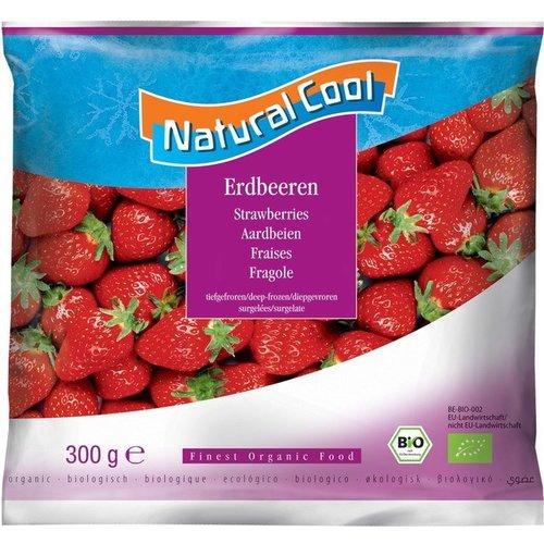 Natural Cool Diepvries Aardbeien 300 gram