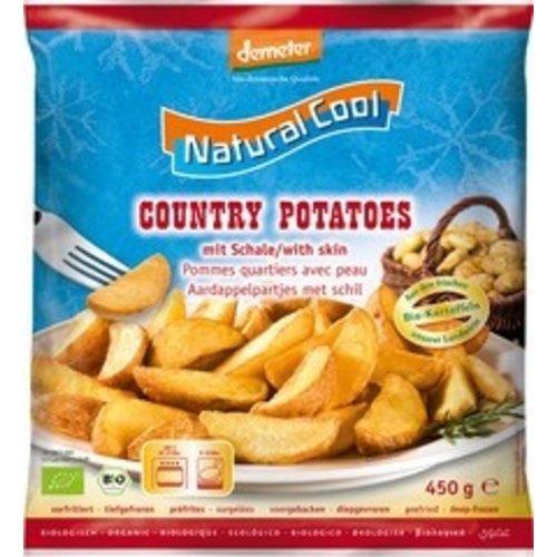 Natural Cool Diepvries Aardappelpartjes met Schil 450 gram