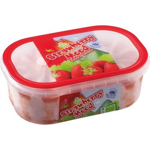 Ice Cream Factory Aardbeien-IJs 900 ml