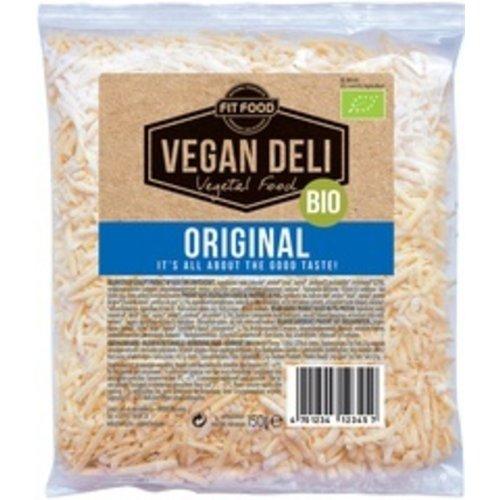 FITFOOD Vegan Deli Geraspte Kaas Original Vegan 150 gram