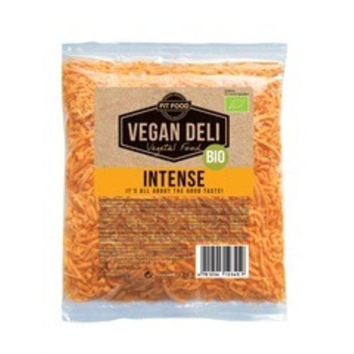 FITFOOD Vegan Deli Geraspte Kaas Intense Vegan 150 gram