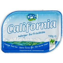 California Roomkaas Naturel 150 gram