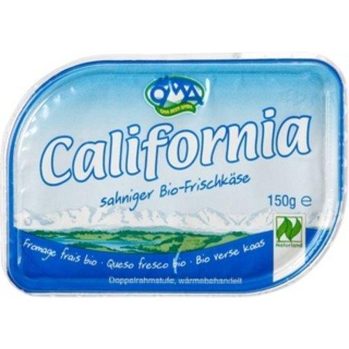 Öma California Roomkaas Naturel 150 gram