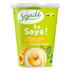 Sojayoghurt Mango & Perzik 400 gram