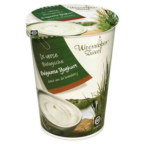 Weerribben Zuivel Bulgaarse Yoghurt 500 gram