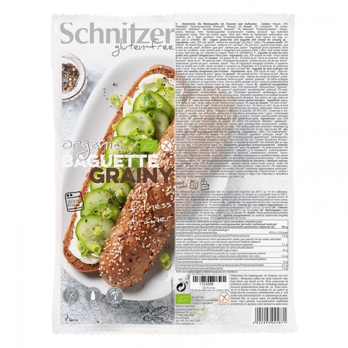 Schnitzer Baguette Grainy 2 stuks