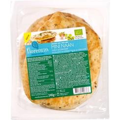 Naanbrood Knoflook/Koriander 240 gram