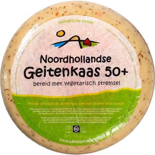 Klompenhoeve Geitenkaas Koriander 50+ ca 300 gram
