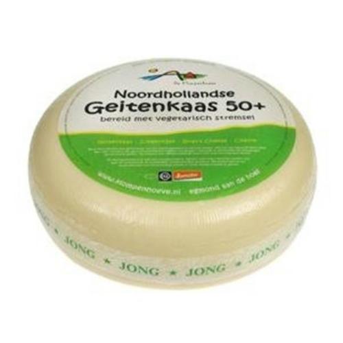 Klompenhoeve Geitenkaas Jong 50+ ca 300 gram